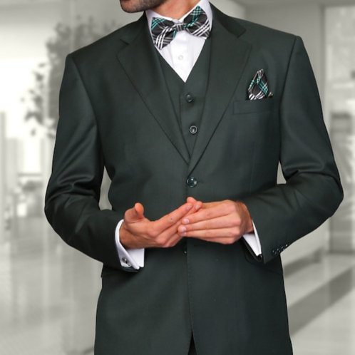 Hunter Green Designer Suit