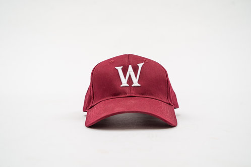 "Cardinal ""William Wilson W"" Cap"