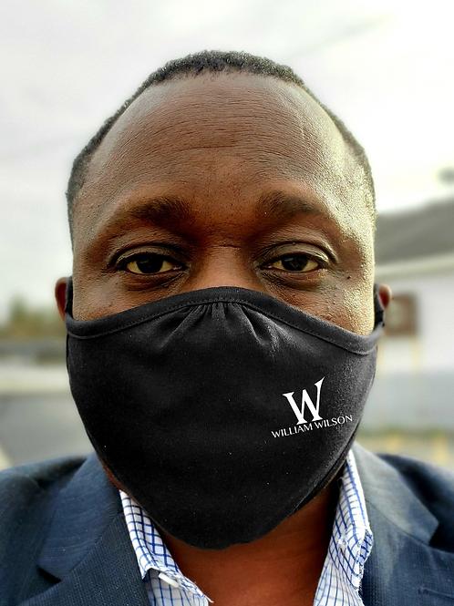"William Wilson ""W"" Face Mask"