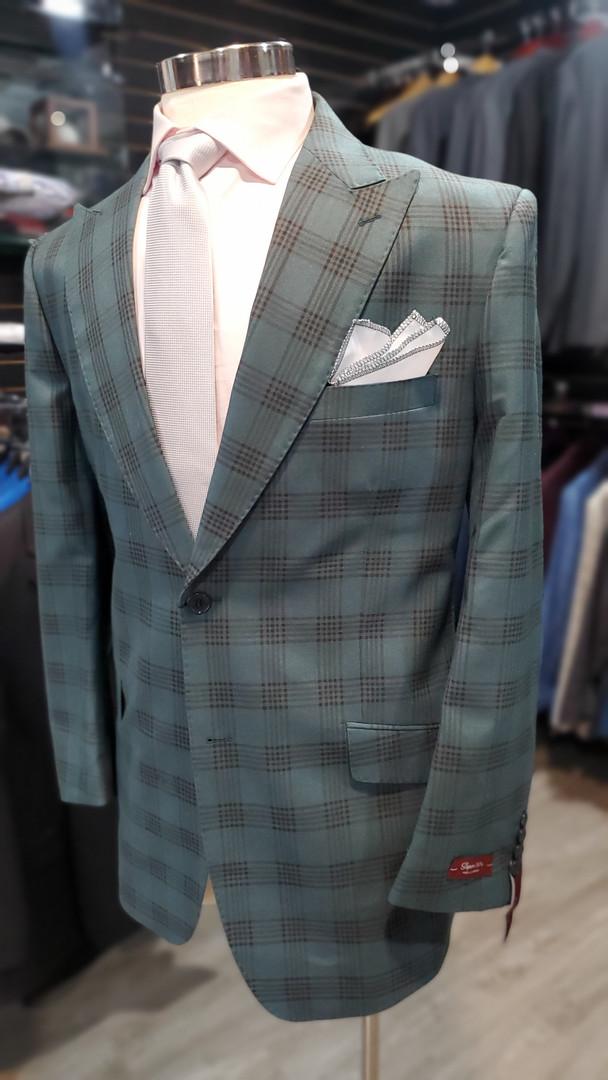 Green Glenplaid Suit