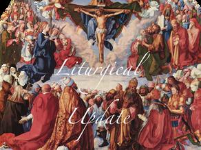 9/23/20 Liturgical Update