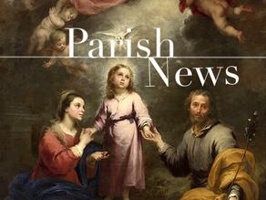 10/26/20 Parish Hours Update