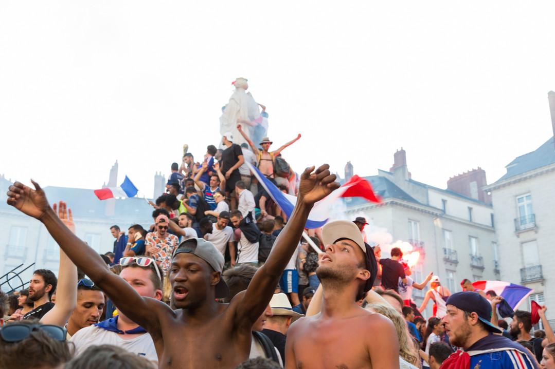 Victoire de la France à la coupe du monde de football