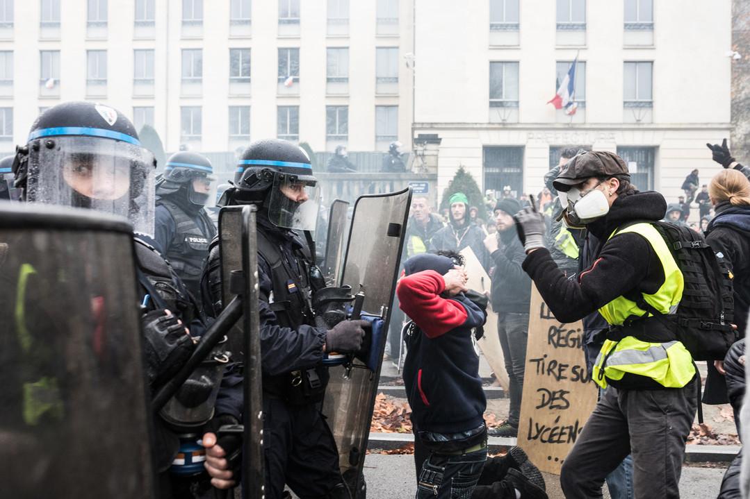 Manifestation des Gilets Jaunes