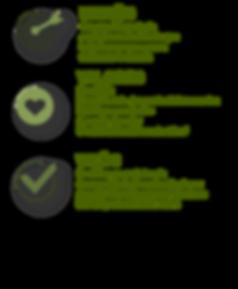 missão, valores, visão