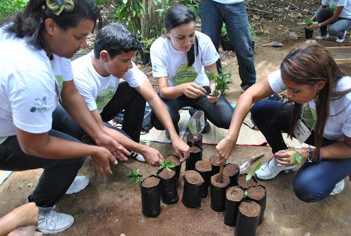 Programa de Educação Ambiental de Suape: Oficina de Restauração Florestal no Viveiro Florestal de Suape.