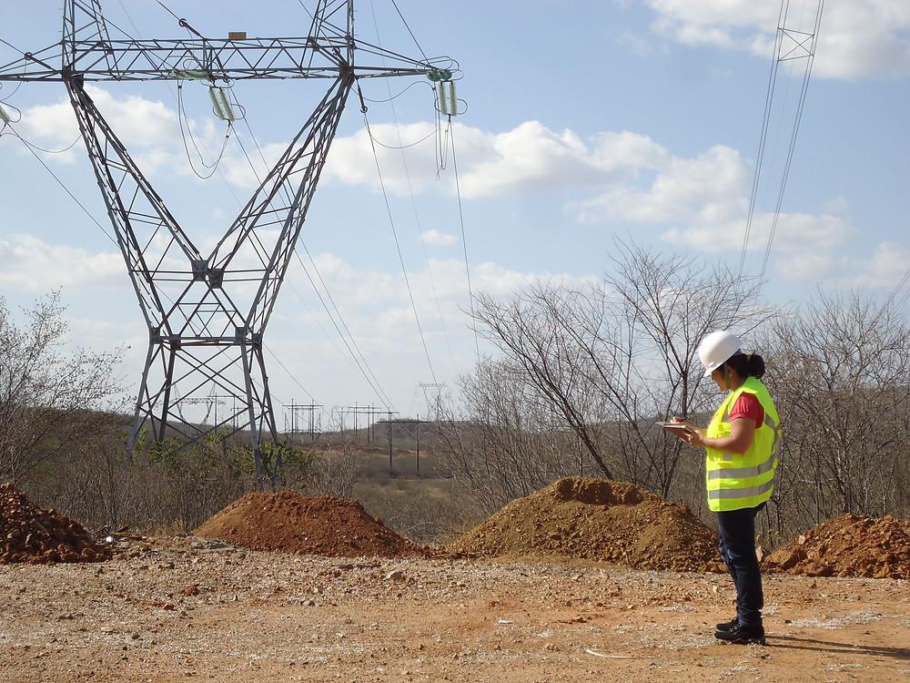 licenciamento ambiental de linha de transmissão.
