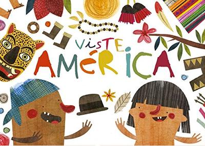 book maya hanisch viste america kid illustration art libro  ilustracion niños chile arte editorial