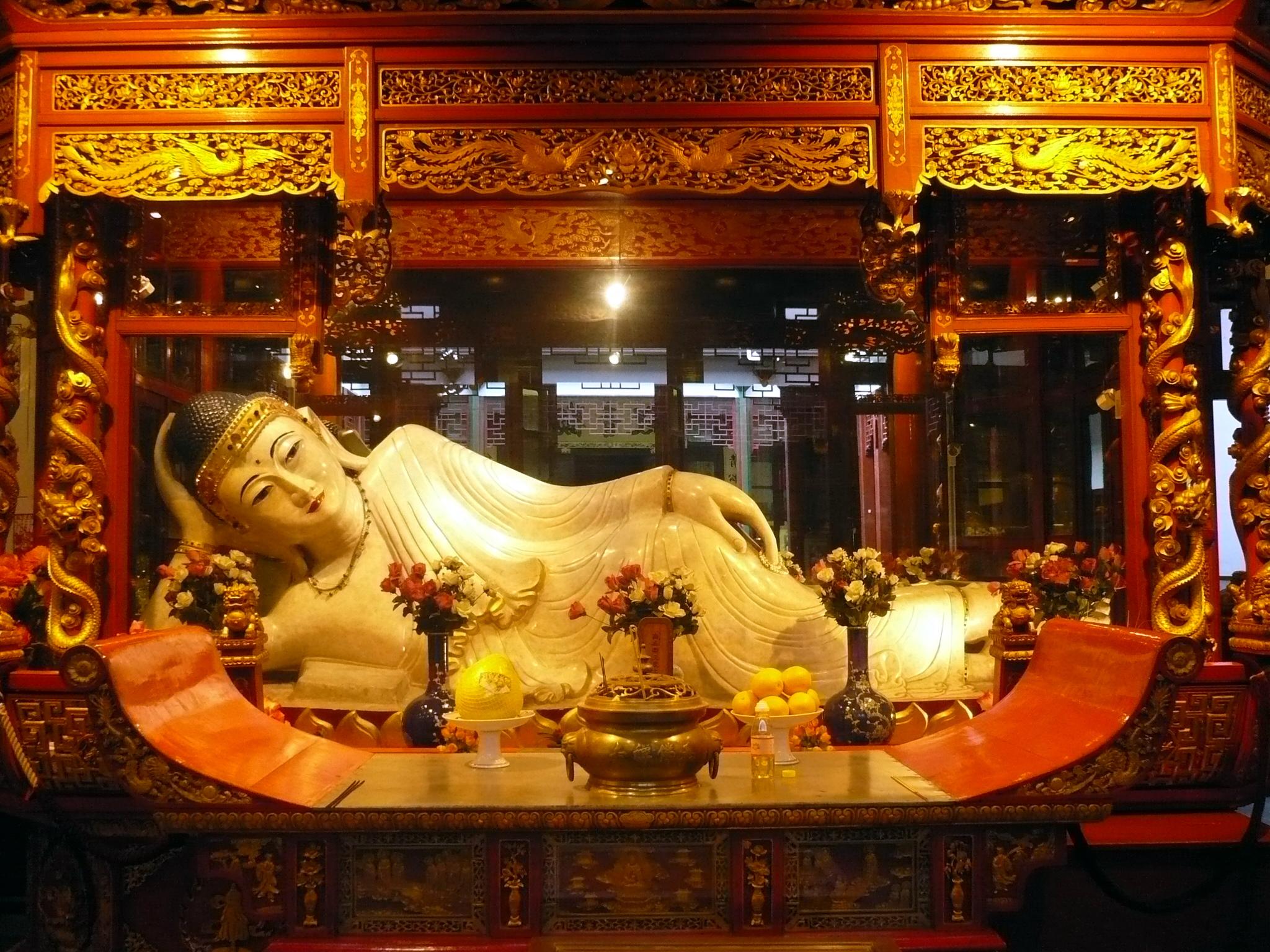 Le Bouddha de Jade à Shanghaï