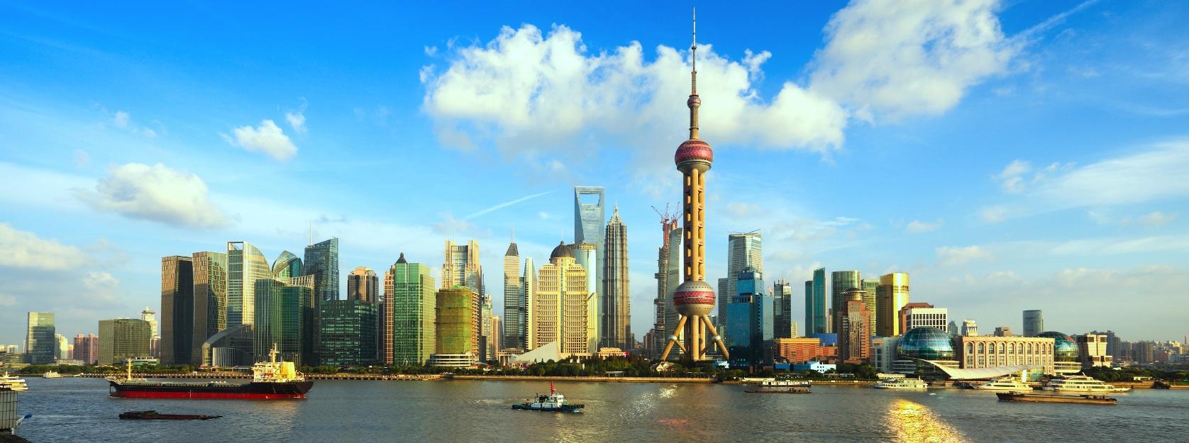 Vue de Shanghaï