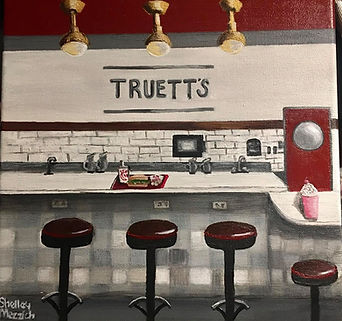 Lunch at Truett's -Shelley Mezzich