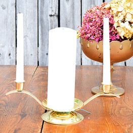 Gold Unity Candle