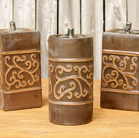 Brown Oil Lanters