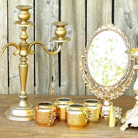 Gold Styling Pieces