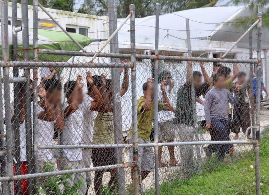 These people were invalidly detained by Australia and PNG on Manus Island