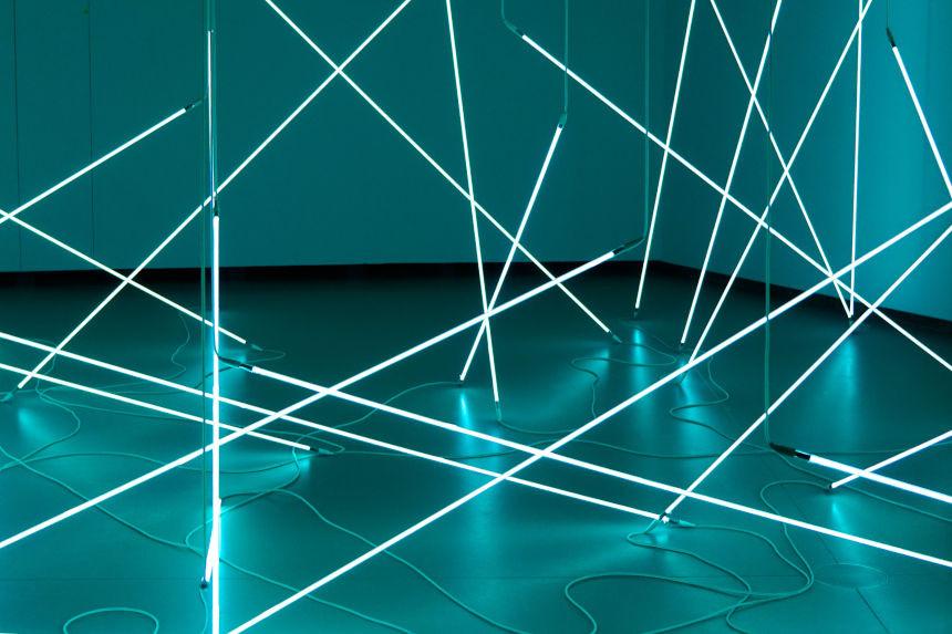 Leuchtstäben für die individuelle Struktur im 4-Kontensystem.
