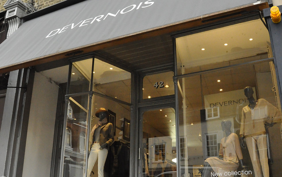 Devernois London Shop in Blackheath