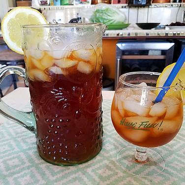 Blueberry Iced Tea Cocktail