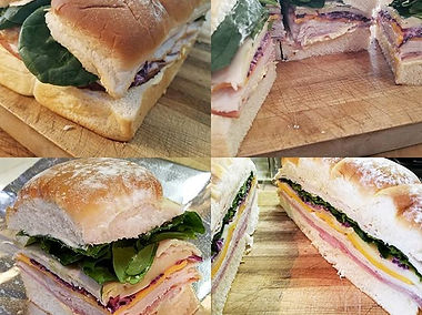 Just like you went to the Deli! I make these yummy sliders all at once then cut them apart