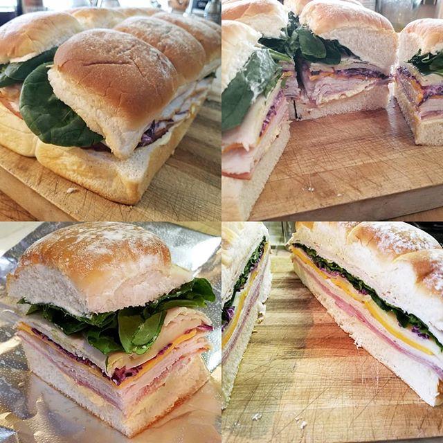 Ham & Turkey Potato Roll Sliders