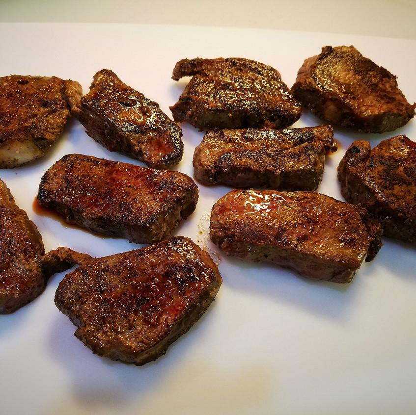 Venison Round Steaks
