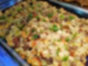 Sausage Mushroom Sourdough Stuffing