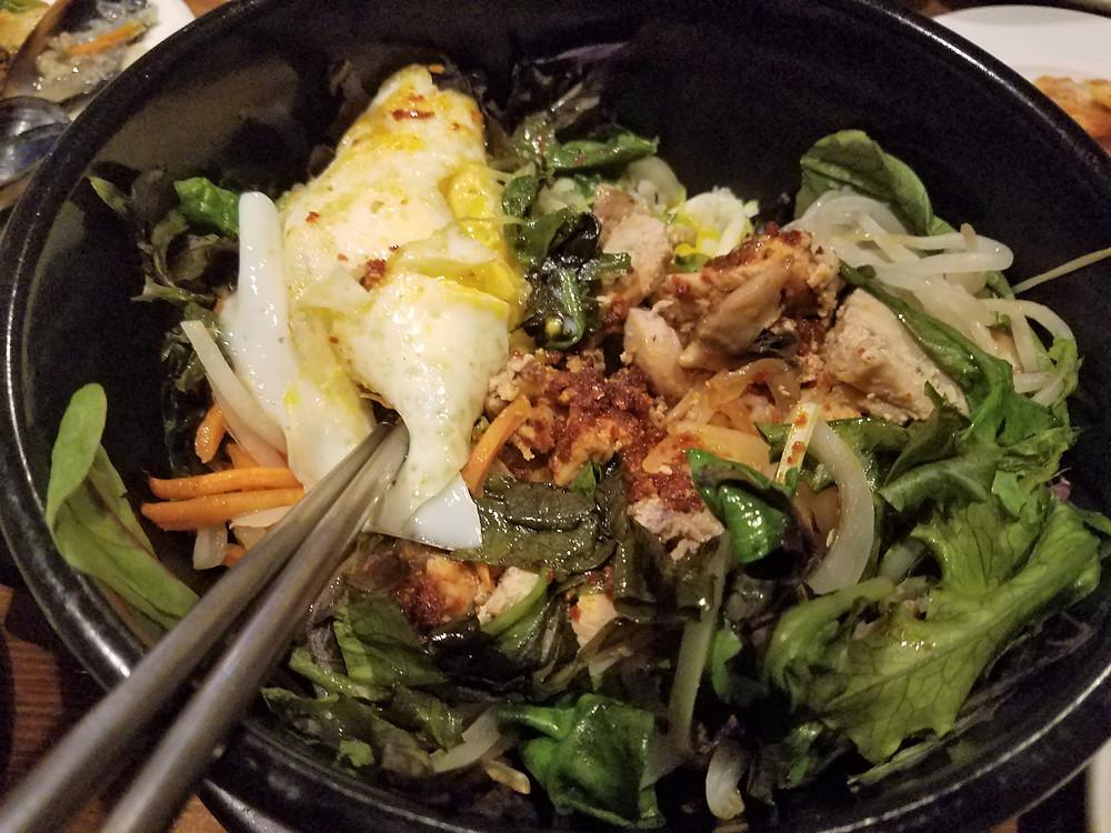 Bibimbap, SooRah Korean Cuisine, Korean Food in the Rogue Valley