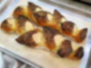 Saffron Poppy Seed Sourdough Epi Bread