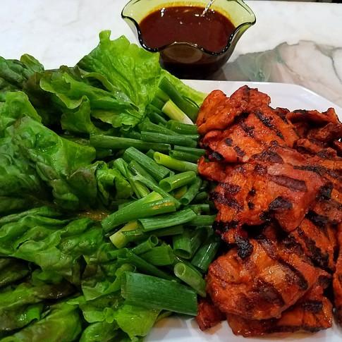 Spicy Grilled Korean BBQ Pork