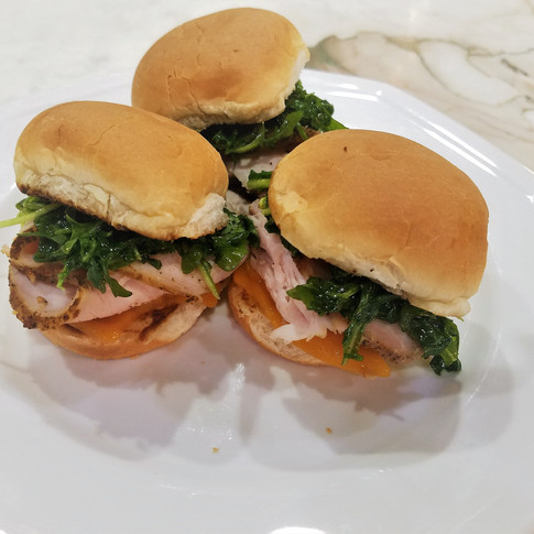 Smoked Pork Loin Sliders