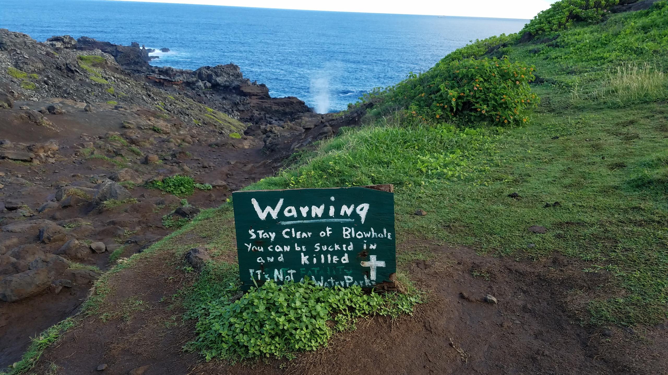 Nakalele Blowhole, West Maui HI