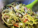 White Bean Zoodles