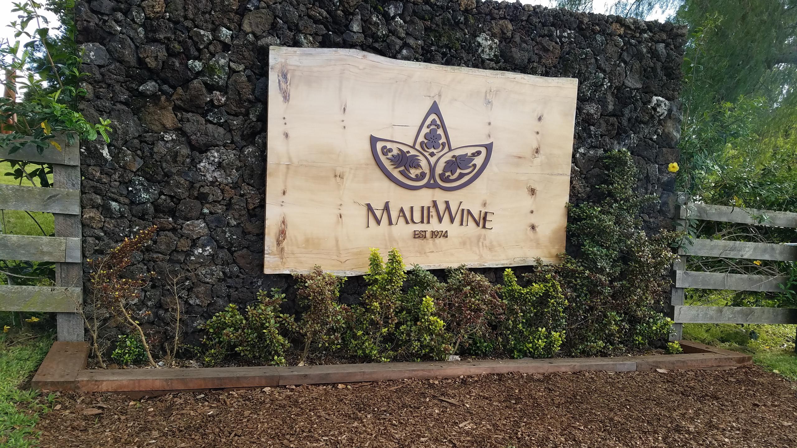 Maui Wine, Ulupalakua Vineyards