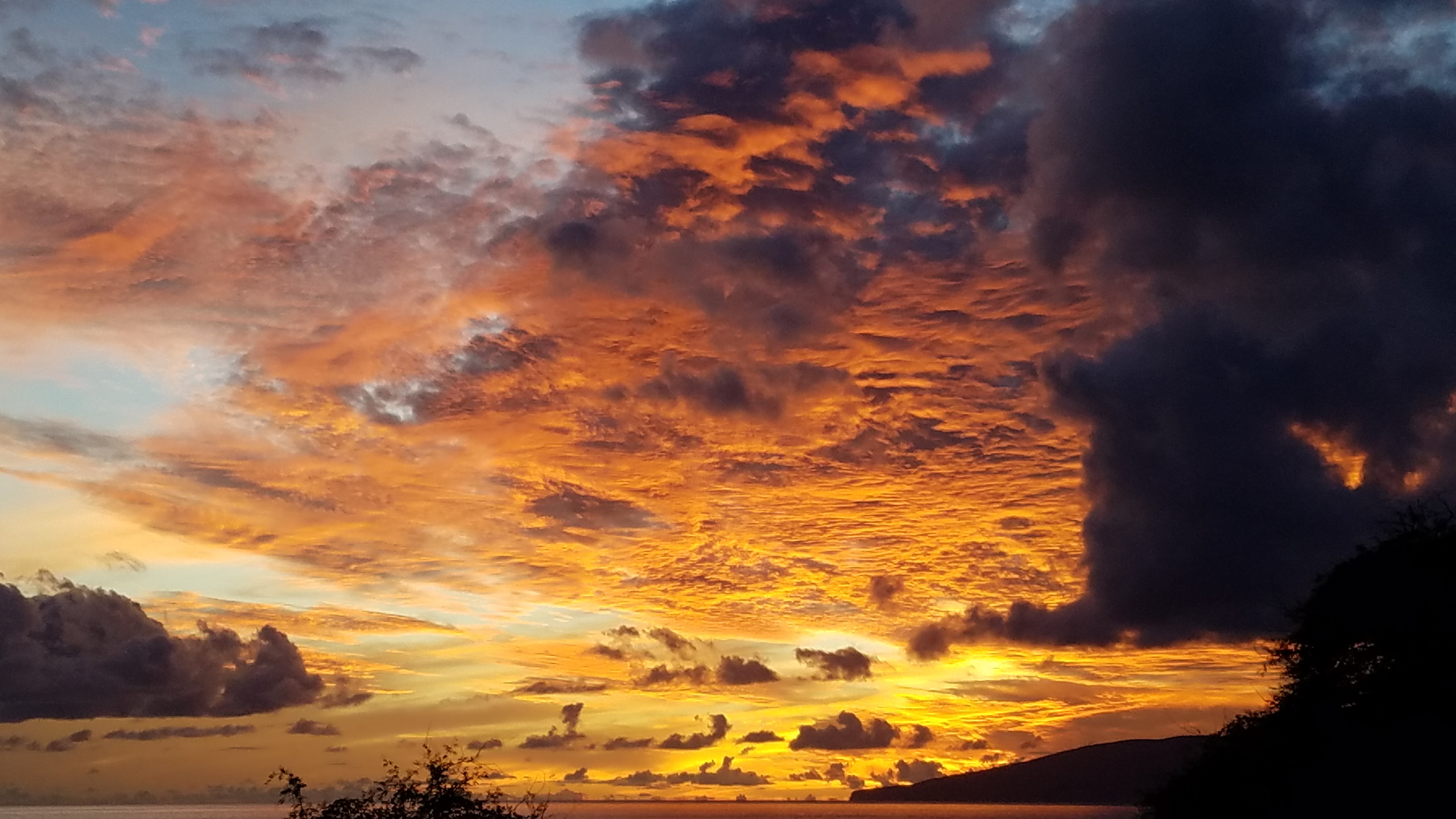 Sunset West Maui, HI