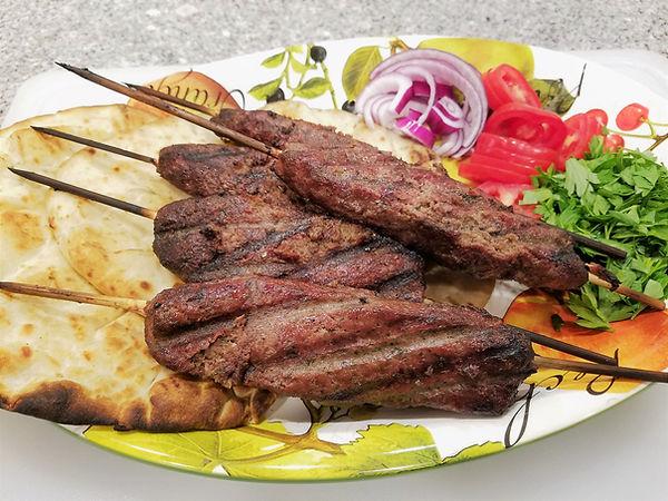 Venison Kofta Kebabs