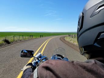 Motorcycle Riding Sherars Bridge to Cascade Cliffs Winery