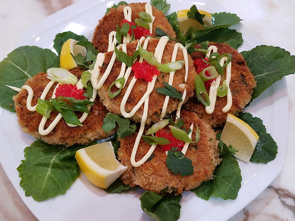 Tuna Cakes in Panko