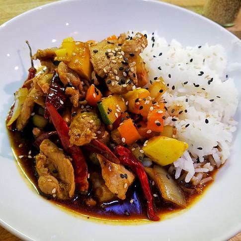 Spicy Pork Stir-fry