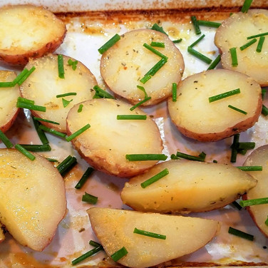 Stock Roasted Red Potatoes