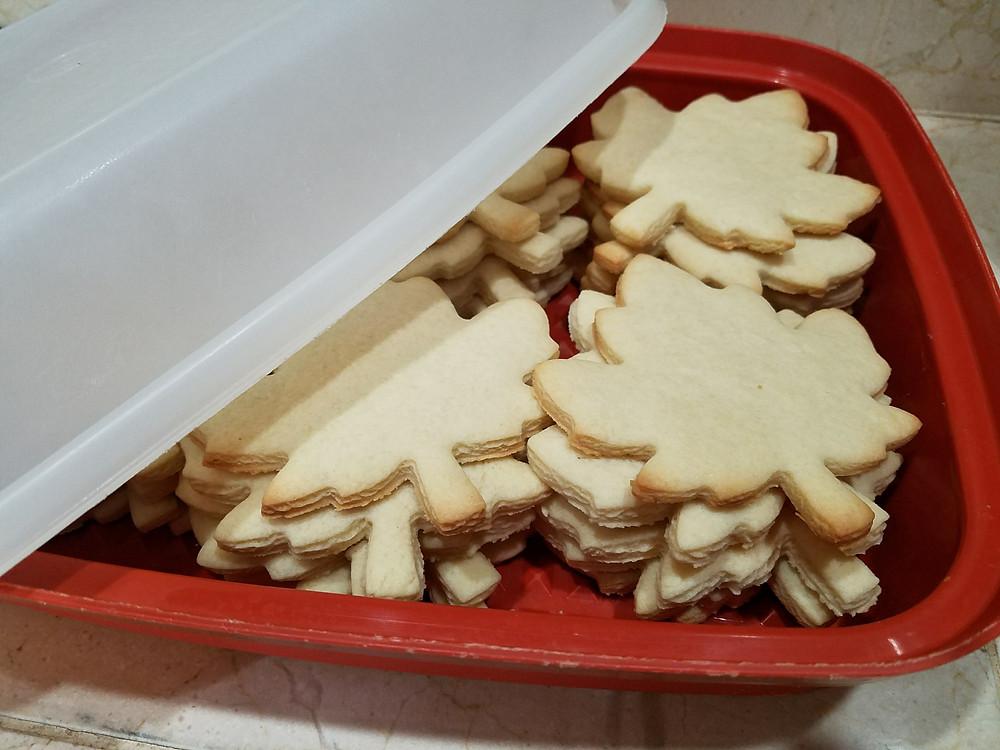 Maple Leaf Sugar Cookies
