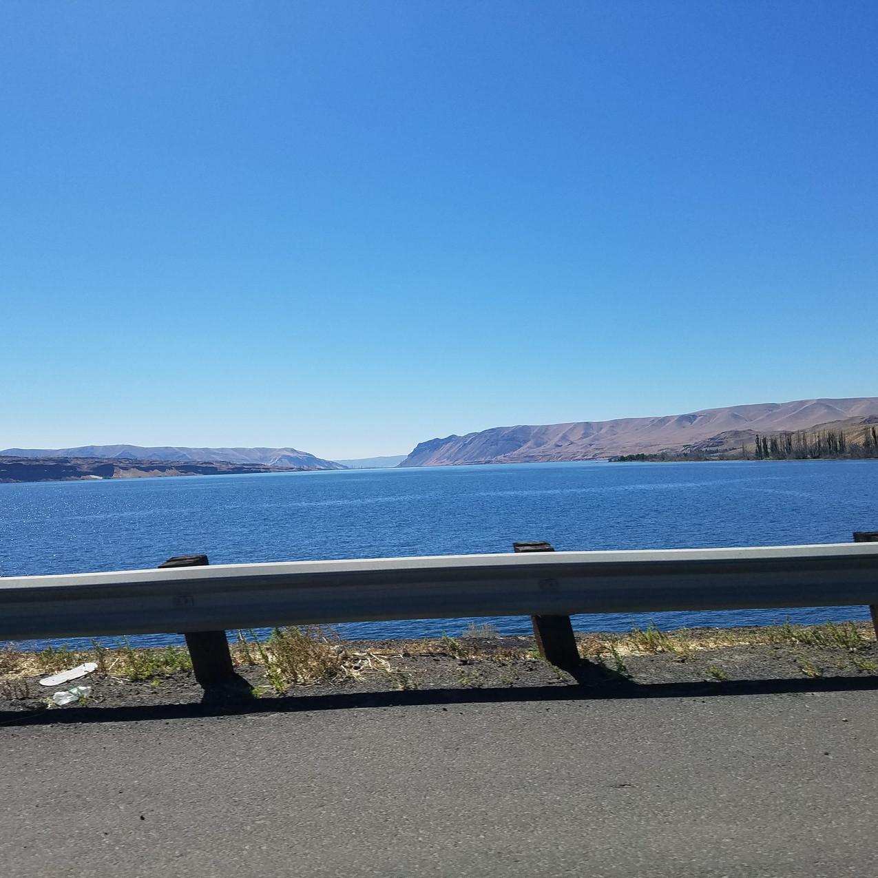 The Columbia River at Vantange, WA