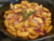Pork Chops and Apple Koss