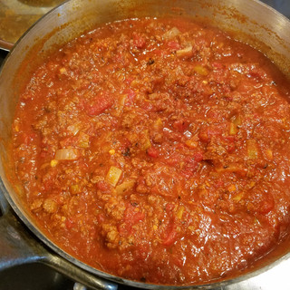 If you have the time, simmer a few more hours for a smoother richer sauce.