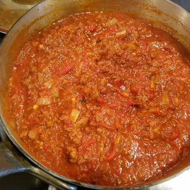Family Night Spaghetti Sauce Recipe