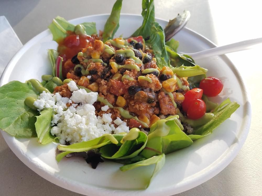 Heart and Bowl Taco Salad