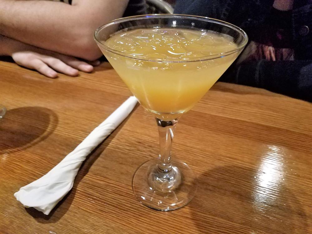 Soju cocktail at SooRah Korean Cuisine in Medford OR
