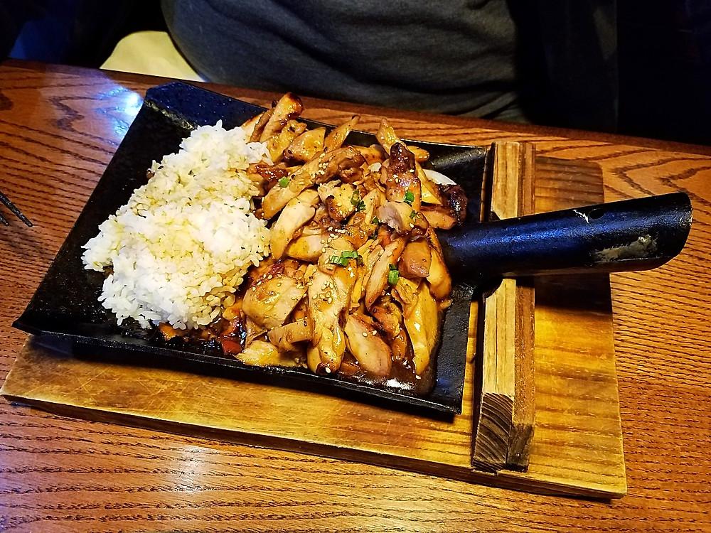 Kobe Hibachi Sushi Chicken Teriyaki
