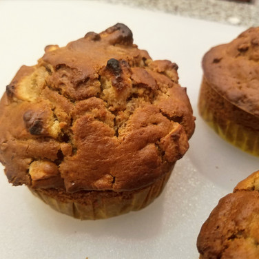 Jumbo Apple Granola Sourdough Breakfast Muffins