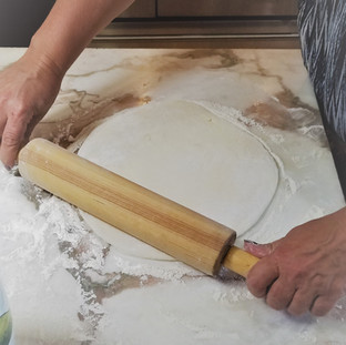 Roll out your dough evenly