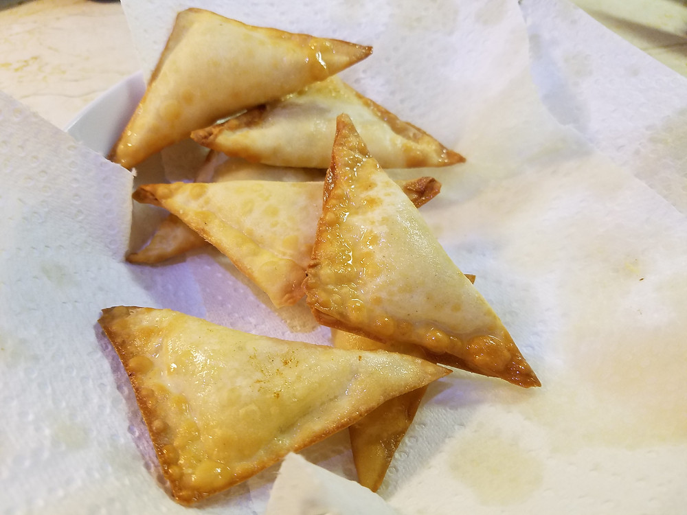 Deep Fried Ricotta Wontons